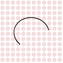 Полукольцо муфты синхронизатора 1 и 2 передача Foton Ollin 1039, 1049C 1701273A1