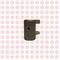 Наконечник штока КПП 5-ой и задней передачи Foton Aumark 1031, 1041 N-1702241-00A