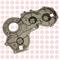 Крышка плиты блока цилиндров Isuzu Elf NKR55 8-97231-214-1